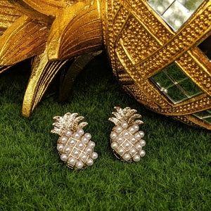 Jewelry - 🌹Silver Plated Pineapple Earrings